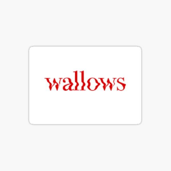 Wallows sticker Sticker