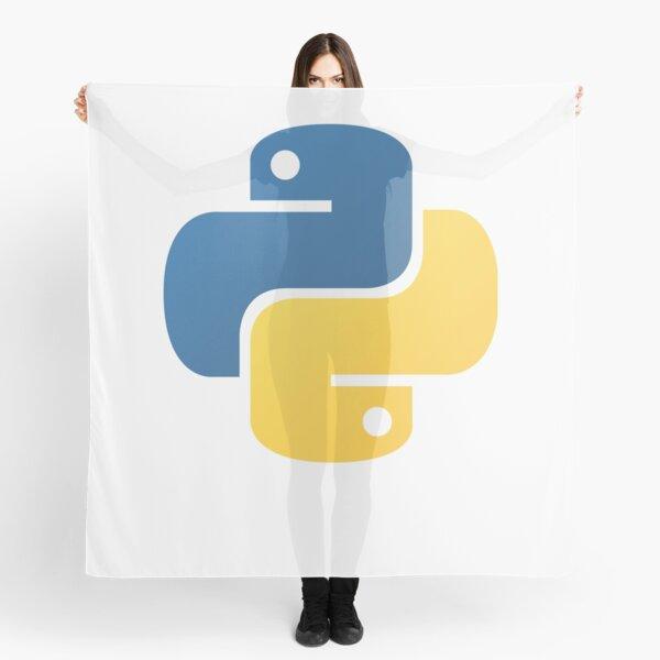 Python Official Logo Scripting Programming Language Scarf