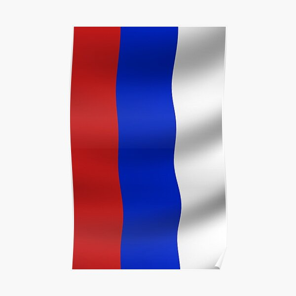 Russian Flag, Russia, International Olympic Committee, IOC, Thomas Bach, doping, scandal, Court, Arbitration, Sport Poster