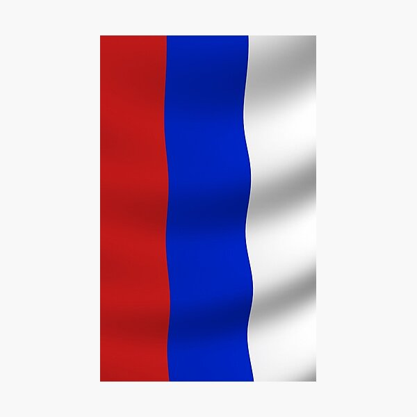 Russian Flag, Russia, International Olympic Committee, IOC, Thomas Bach, doping, scandal, Court, Arbitration, Sport Photographic Print