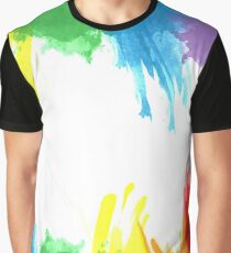 Watercolors Graphic T-Shirt