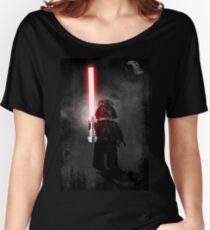 Darth Vader - Star wars lego digital art.  Women's Relaxed Fit T-Shirt