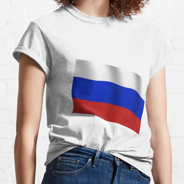 Russian Flag, Russia, International Olympic Committee, IOC, Thomas Bach, doping, scandal, Court, Arbitration, Sport Classic T-Shirt