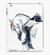 Dressage horse iPad Case/Skin