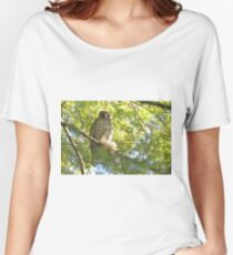 Powerful Owl (109) Women's Relaxed Fit T-Shirt