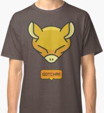 Gotcha Catching Abra Pokemon Classic T-Shirt