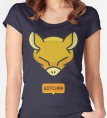 Gotcha Catching Abra Pokemon Women's Fitted Scoop T-Shirt