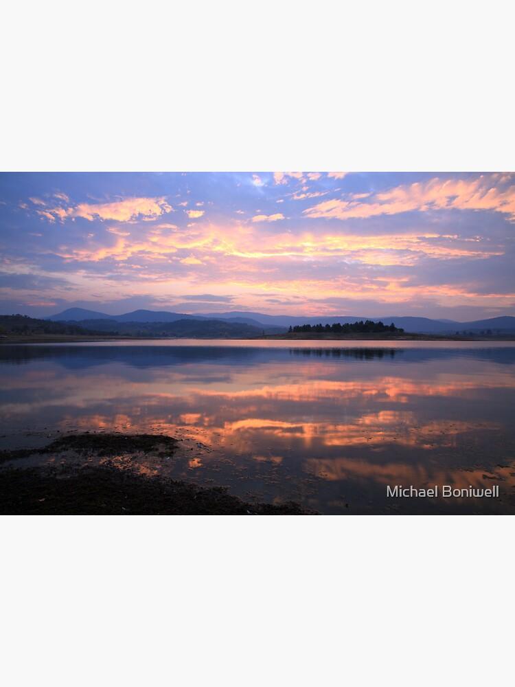 Lake Jindabyne Sunset, Australia by Chockstone