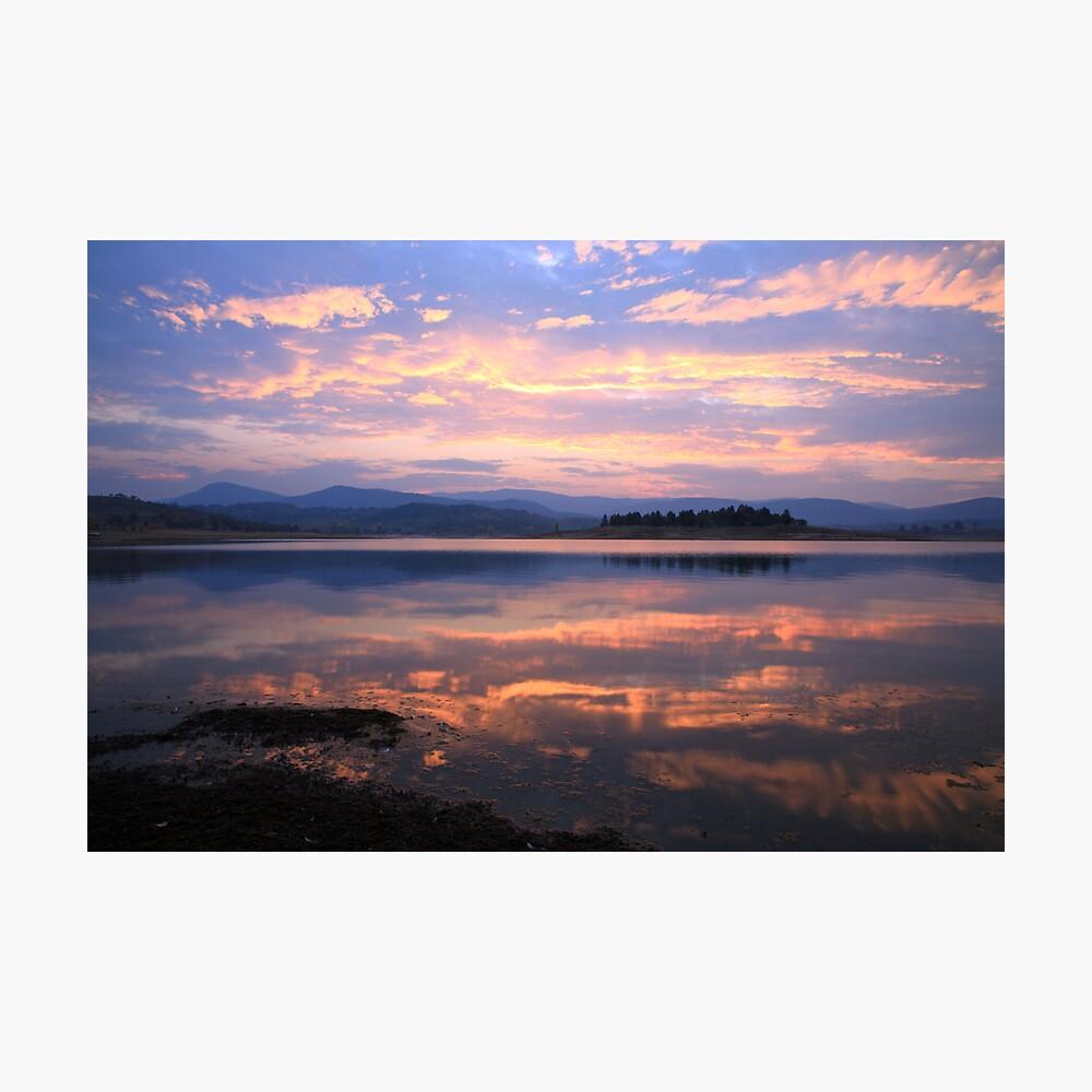 Lake Jindabyne Sunset, Australia Photographic Print