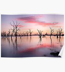 Lake Victoria Dawn, Australia Poster