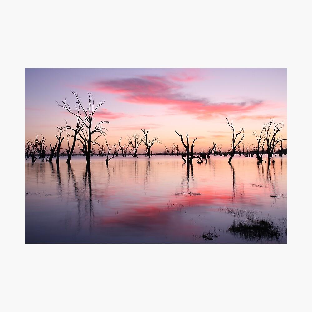 Lake Victoria Dawn, Australia Photographic Print