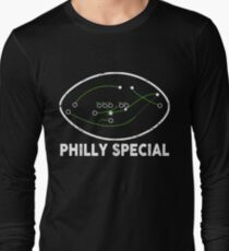 The Philly Special Shirt Funny Philly Football T-Shirt Long Sleeve T-Shirt