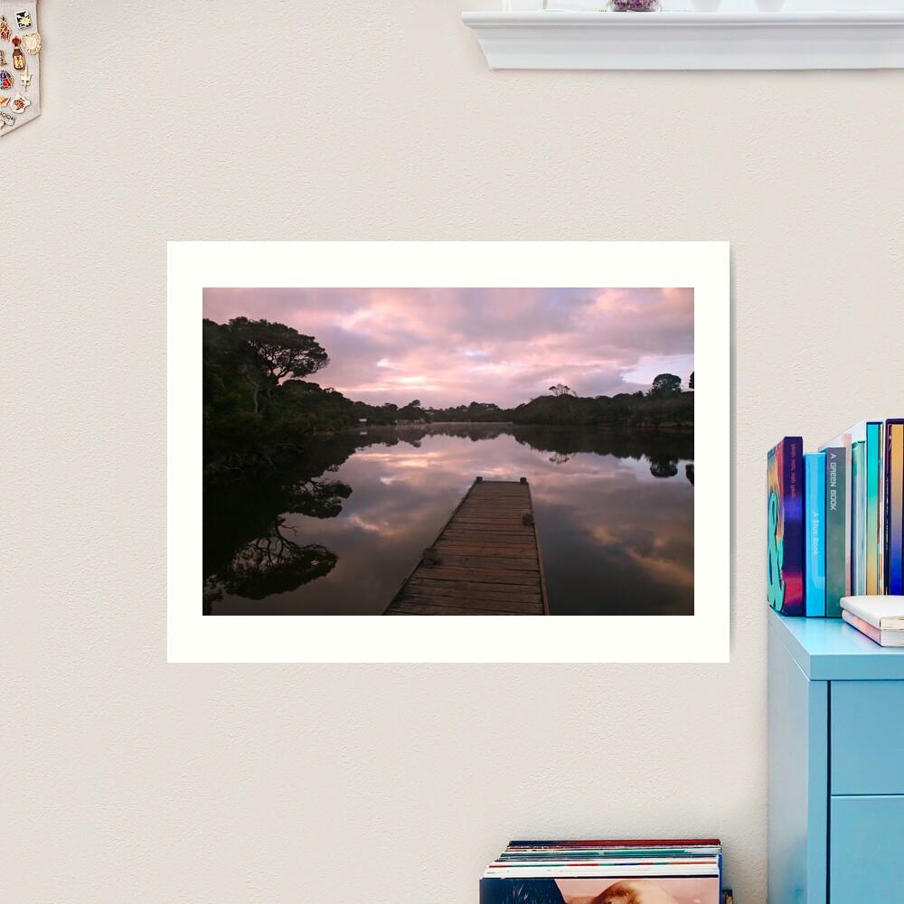 Glenelg River Awakens, Australia Art Print