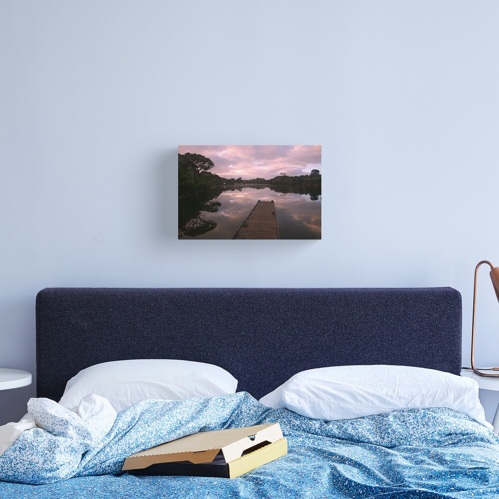 Glenelg River Awakens, Australia Canvas Print