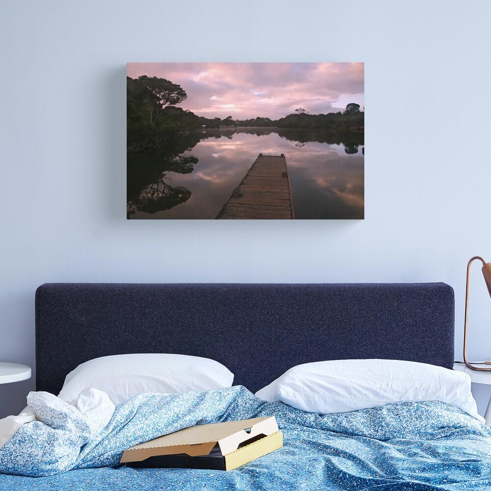 Glenelg River Awakens, Australia Canvas Print