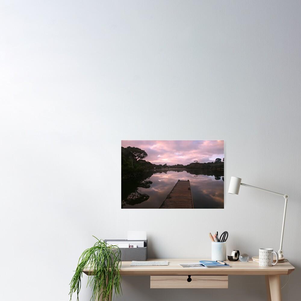 Glenelg River Awakens, Australia Poster