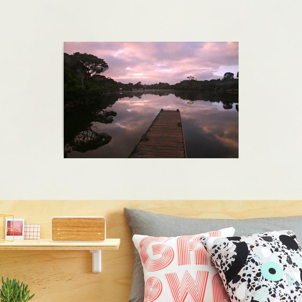 Glenelg River Awakens, Australia Photographic Print