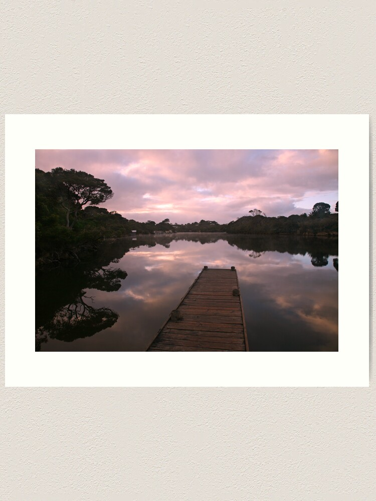 Alternate view of Glenelg River Awakens, Australia Art Print