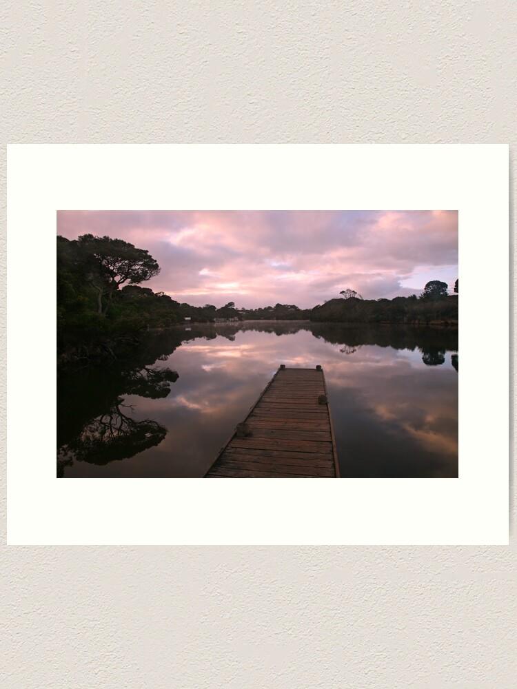 Alternate view of Glenelg River Awakens, Australia Art Print