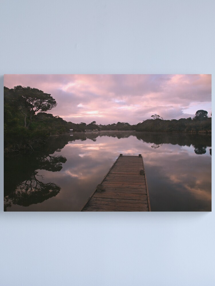 Alternate view of Glenelg River Awakens, Australia Canvas Print