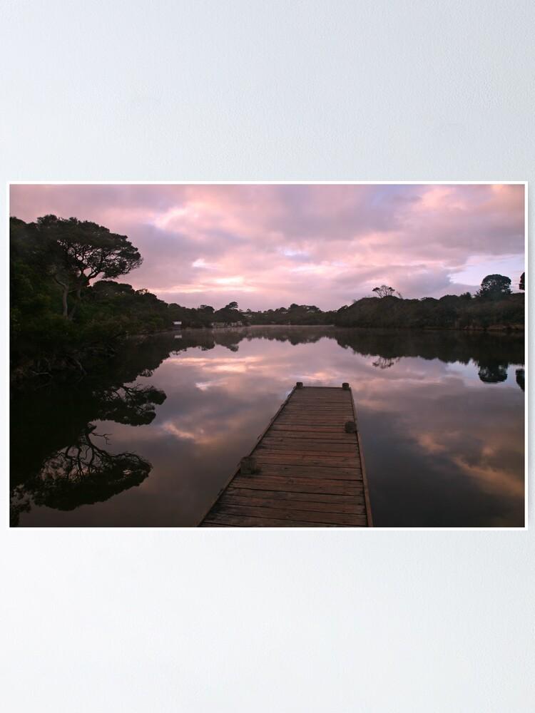 Alternate view of Glenelg River Awakens, Australia Poster