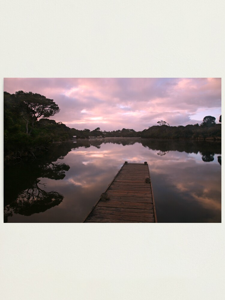 Alternate view of Glenelg River Awakens, Australia Photographic Print