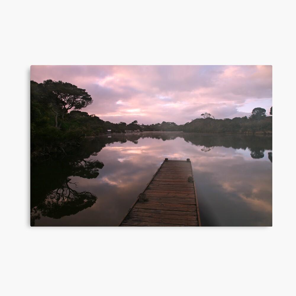 Glenelg River Awakens, Australia Metal Print