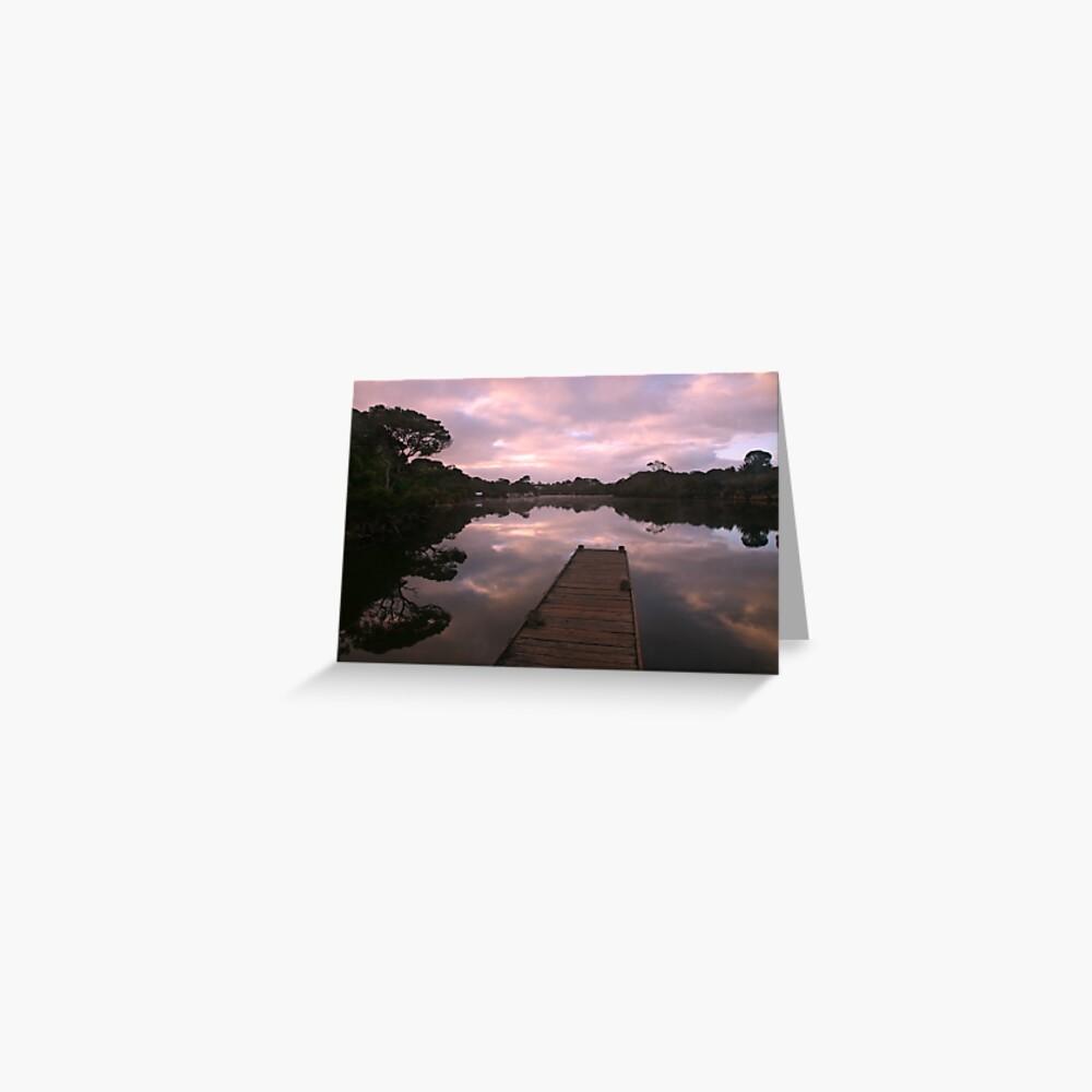 Glenelg River Awakens, Australia Greeting Card