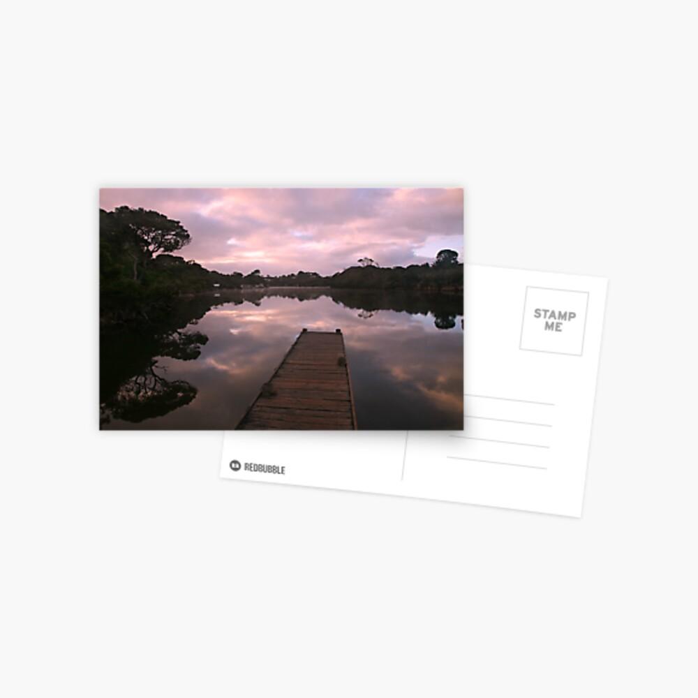 Glenelg River Awakens, Australia Postcard