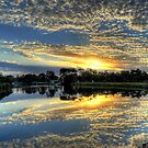 """ Sunrise on the Brodribb River Marlo Vic "" by helmutk"