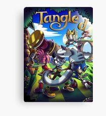 Miitoons' IDW Sonic: Tangle(d)  Canvas Print