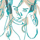 Headphone Bliss by thedelicion