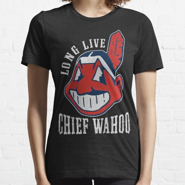 Cleveland remembers Chief Wahoo Mens White T-Shirt
