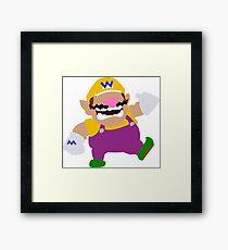 Wario | Nintendo Mario Framed Print