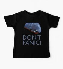 Spacex DON'T PANIC Baby Tee