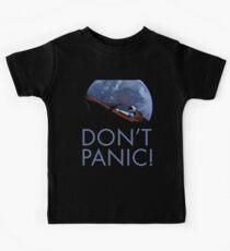 Spacex DON'T PANIC Kids Tee