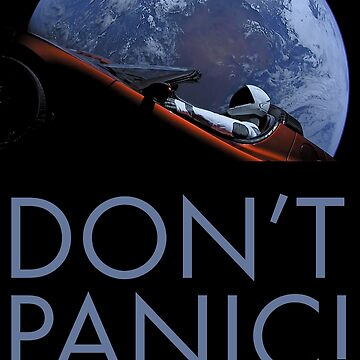 Spacex DON'T PANIC by Boy-With-Hat