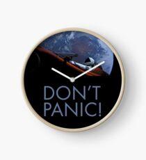 Spacex DON'T PANIC Clock