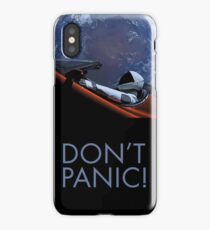 Spacex DON'T PANIC iPhone Case