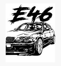 e46 m3 bmw wall art redbubble BMW I8 e46 dirtystyle photographic print