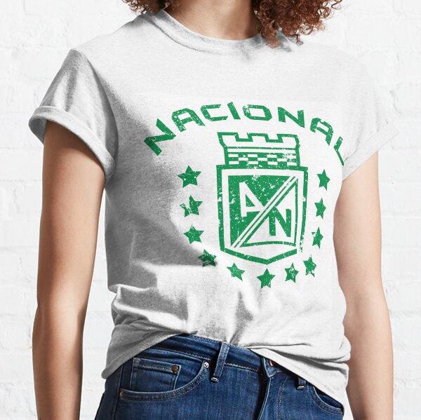 Atlético Nacional Medellín Colombia Camiseta Camiseta futbol Camiseta clásica