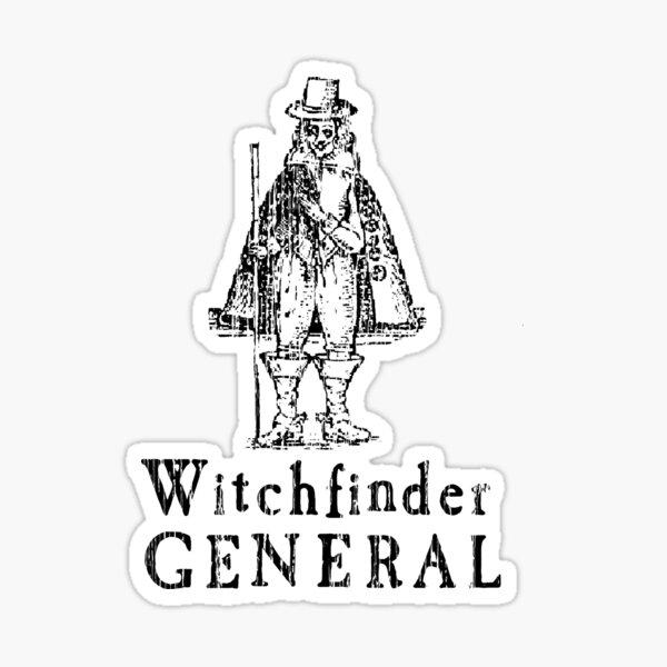 Folk Horror Witchfinder General Witch T-Shirt Gift Sticker