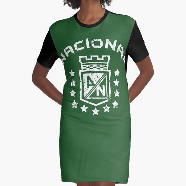 Atlético Nacional Medellín Colombia Camiseta Camiseta futbol Vestido camiseta