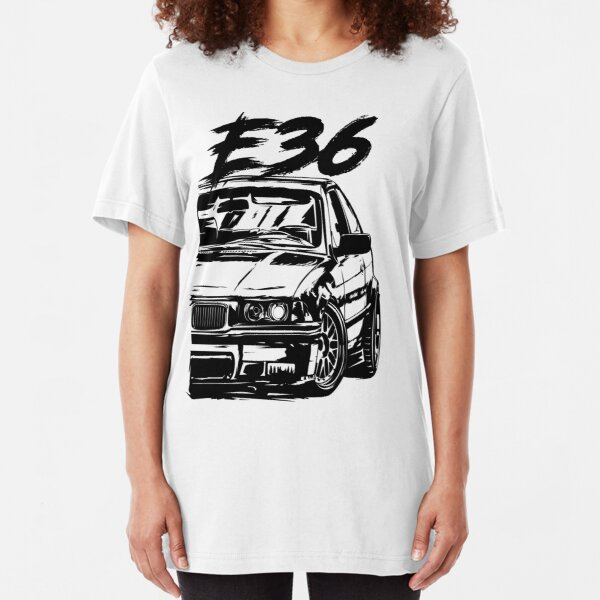 E36 Dirty Style Slim Fit T-Shirt