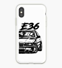 E36 Dirty Style iPhone Case