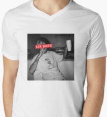 Lil Peep   Supreme Design   UK Merch Men's V-Neck T-Shirt
