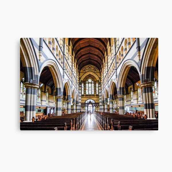 ST PAUL'S CATHEDRAL, MELBOURNE Canvas Print
