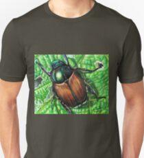 Japanese Beetle on Leaf T-Shirt