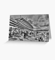 Ascot Racecourse Greeting Card