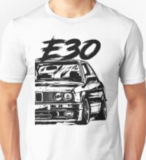 "E30 ""Dirty Style"" Unisex T-Shirt"